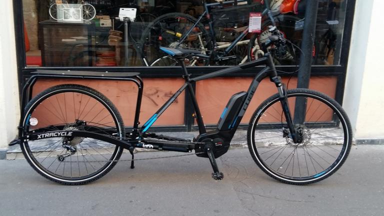 vélo cube et kit leap xtracycle