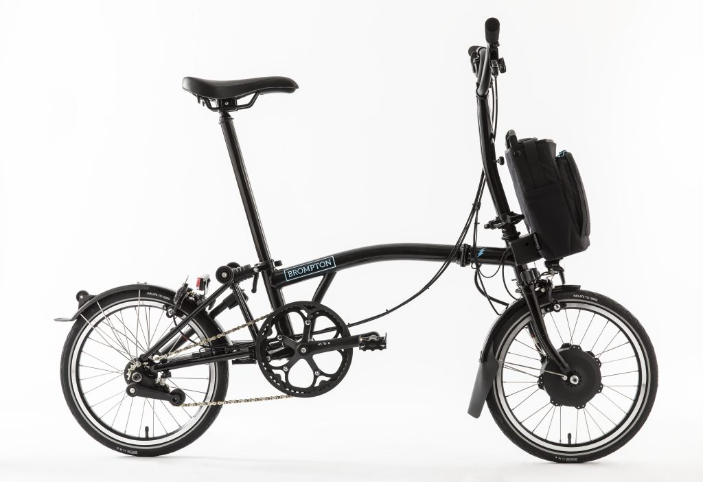 Brompton Electric Gloss Black